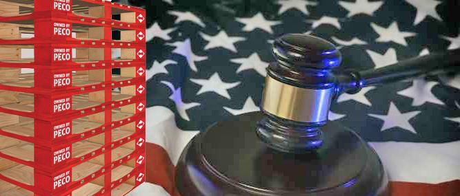 Pallet Enterprise : Proprietary Pallet Law: PECO Demands